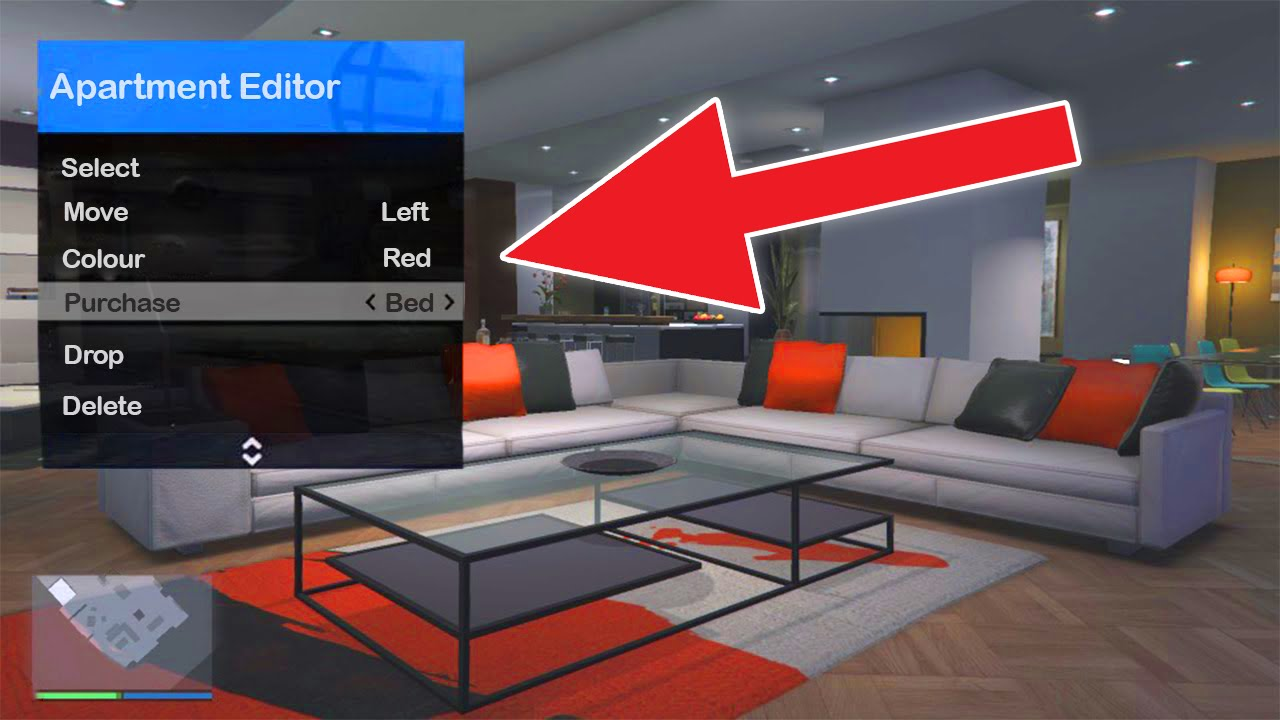 GTA 5 Online Cut Content - Furniture Store & Apartment Editor (GTA ...
