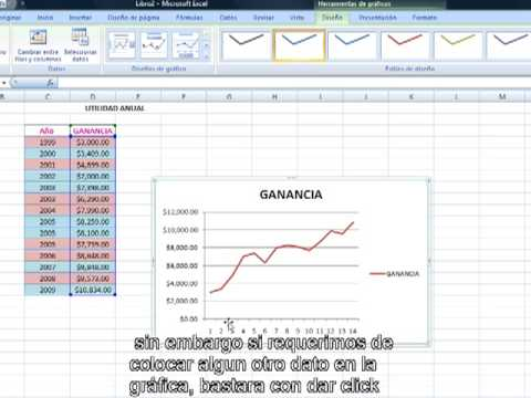TUTORIAL GRAFICAS EXCEL from YouTube · Duration:  4 minutes 14 seconds