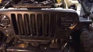 Install of Nightsun4x4 75w LED headlights Jeep LJ   TJ(Walkthrough of the Install of Nightsun4x4 75w LED headlights Jeep LJ / TJ., 2015-01-19T13:55:44.000Z)