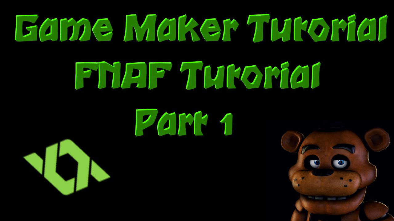 Game Maker Tutorial - FNAF Fan Game - #1