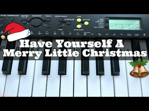 Have Yourself a Merry Little Christmas | Easy Keyboard Tutorial With Notes (Right Hand)