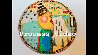 How to Make Artist Trading Coins - Process Video