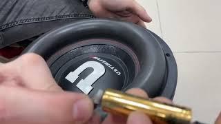 Титанат против сабвуфера. Что будет если саб подключить от батарейки?