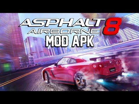 Asphalt 8: Airborne Latest Version 3.2.0q Mod APK  (100% Working) (Mega Links)