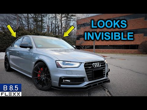 STEALTHY HD Dashcam | How to install a dashcam on 2013+ Audi A4 S4 B8.5