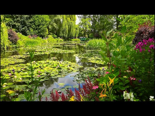 jardins de monet giverny france youtube