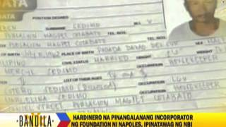 Cotabato gardener named incorporator in Napoles NGO