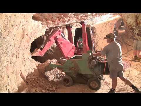 Opal Mining At Lightning Ridge