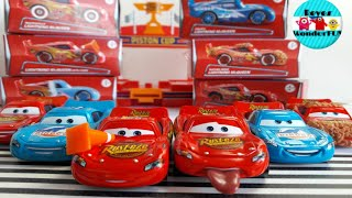 Mattel 2018 Disney Cars 6 puzzle box diecast car set Lightning McQueen