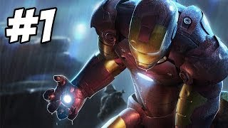 Iron Man Walkthrough | Escape / First Flight | Part 1 (Xbox360/PS3/PC/Wii)
