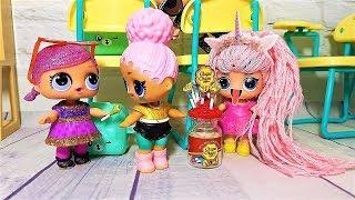 LOL DOLL WITH LONG HAIR Cartoon dolls Doll LOL LOL LOL SURPRISE