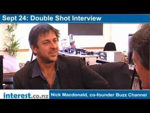Double Shot Interview: Nick Macdonald, co-founder Buzz Channel with Andrew Patterson