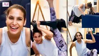 Prachi Mahat Workout Video   21 Days Lockdown, Quarantine, Fitness, கொரோனா, Weight Loss   Aval Glitz