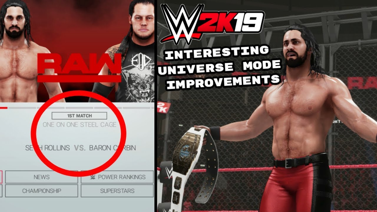 WWE 2K19: 5 Interesting Universe Mode Improvements