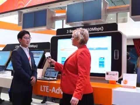 #MWC14: SK Telecom's LTE advanced services
