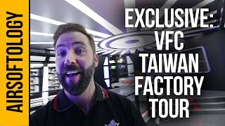 VFC Factory Tour - Behind the Scenes from Taiwan | Airsoftology