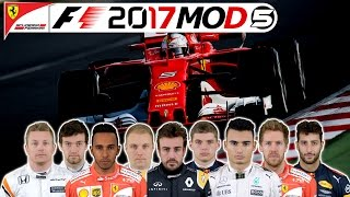 F1 2016 Last to First Saison Preview - Die Ultimative F1 2017 MOD | Sebastian Vettel