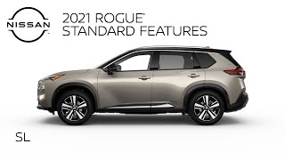 homepage tile video photo for 2021 Nissan Rogue SL Walkaround & Review