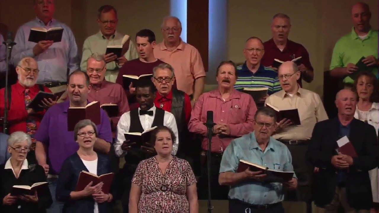 Just A Little Talk With Jesus - 2018 Gardendale Redback Church Hymnal  Singing