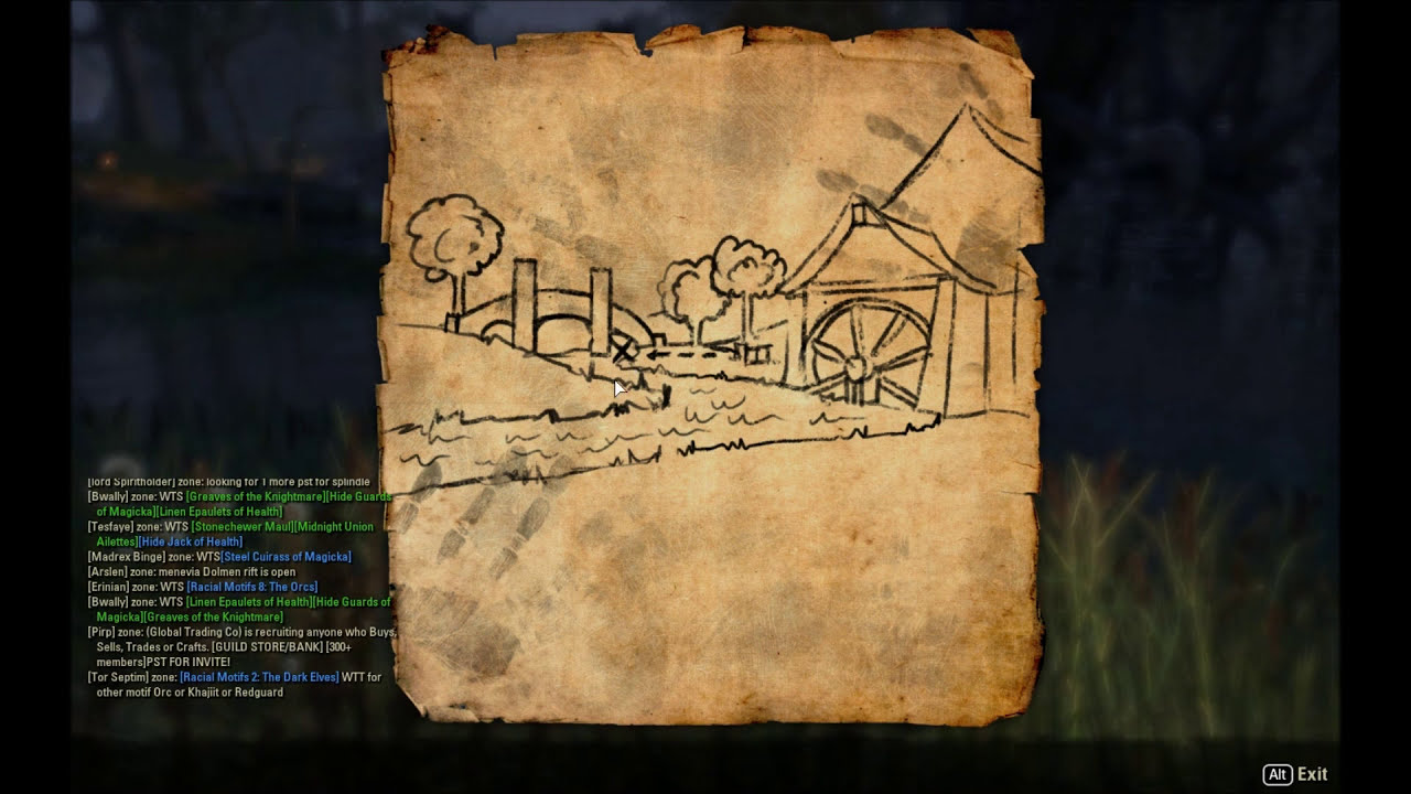 Eso: Stormhaven Treasure Map Ii Location - Shimmer - TheWikiHow on