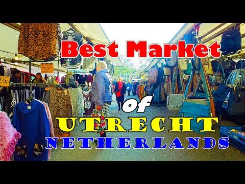 Indian Guy Exploring Netherlands ll Best Market of Utrecht l