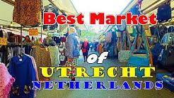 Best Market of Utrecht ll Vlog ll Netherlands
