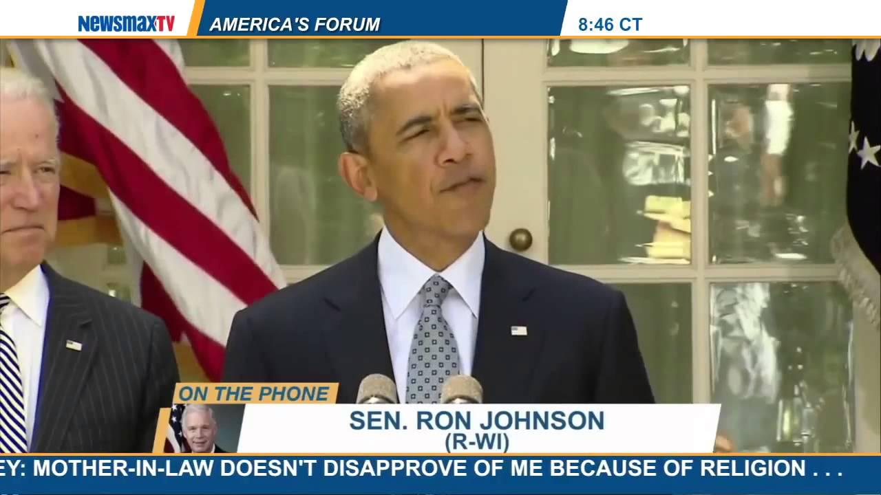 Newsmax: Sen. Ron Johnson: 'I'm Optimistic' About Obamacare Lawsuit