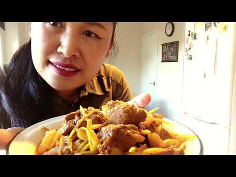 Today I 'm making Hang Leh(Pork curry)Thai food 24/10/18