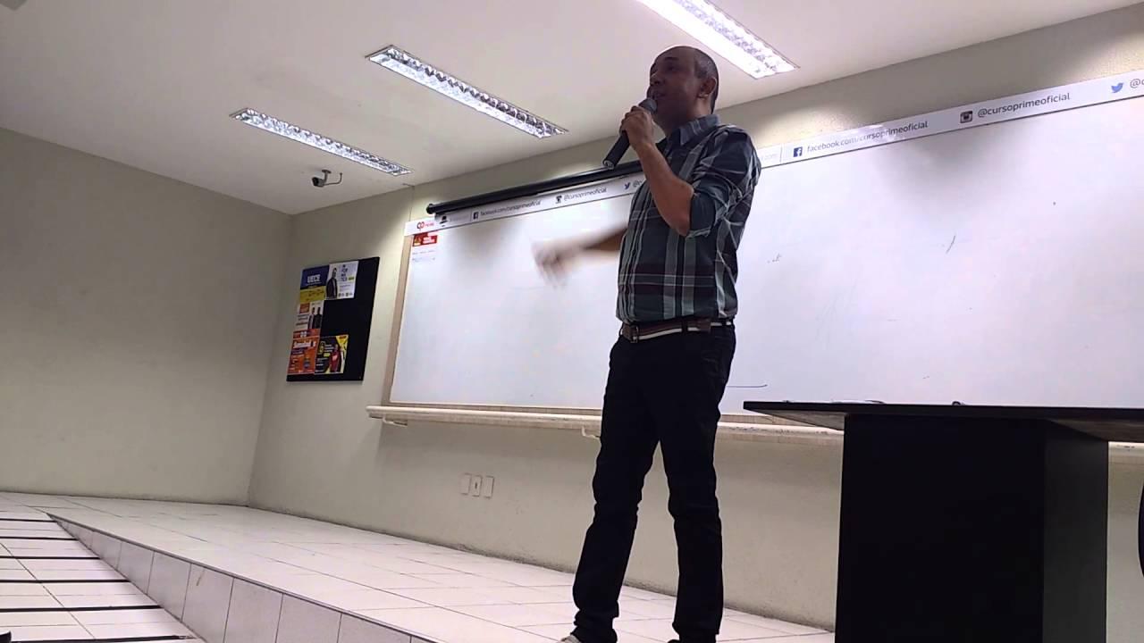 Márcio Alves Palestra Motivacional Para Concursos No Curso Prime Em Fortaleza Parte 2
