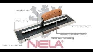 NeLa Plastering Trowels - Made in Germany