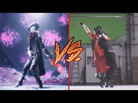 Devil May Cry 5 Vs. Real Life (Live Action Cutscenes)
