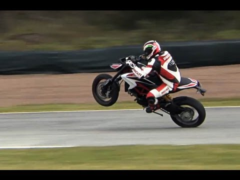 First-Test-Video | Ducati Hypermotard 2013 | Action, Sound, Onboard