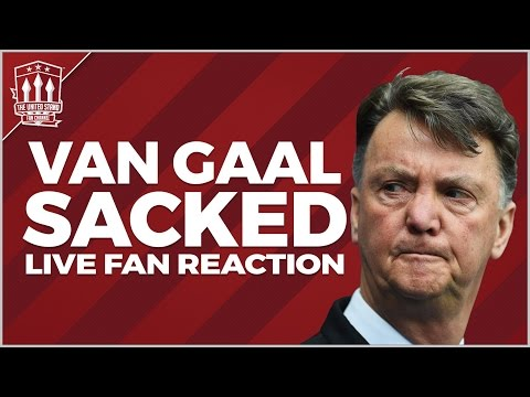 Van Gaal Sacked! LIVE Reaction | Man United Latest