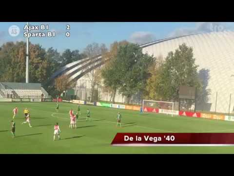 As Tv Ajax B1 Sparta Rotterdam B1 Highlights Youtube