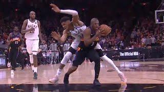 Chris Paul slammed on the brakes and got Giannis for 2+1 ? Suns vs Bucks Game 1