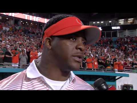 Edgerrin James & Clinton Portis rave about UM RB Duke Johnson