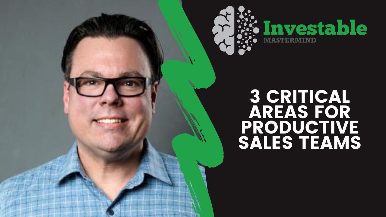 3 Critical Areas for Productive Sales Teams