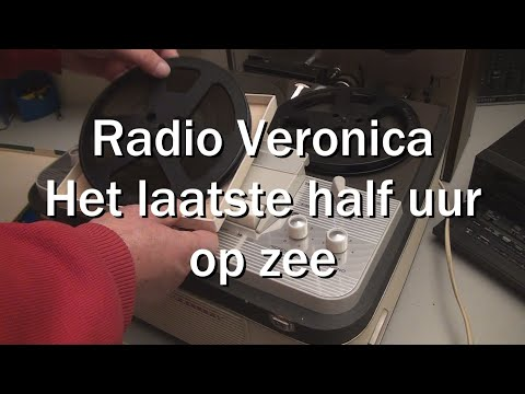Nostalgische reclameboodschappen van 192 Radio Veronica op de Norderney
