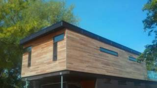Thermally Treated North American Ash Siding