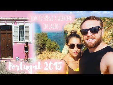 A Weekend in Lagos, PORTUGAL! | 2018 Travel Vlog, The Algarve