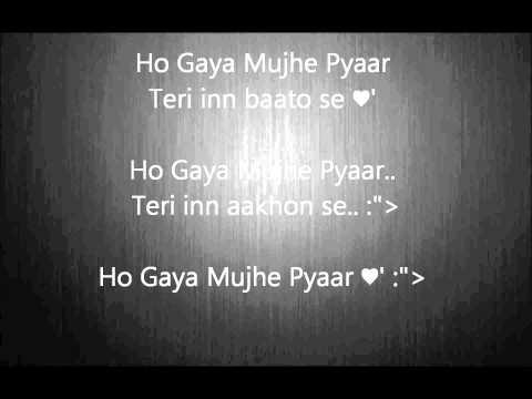 Ho gaya Mujhe Pyaar a-bazz ft. singhasta Lyrics