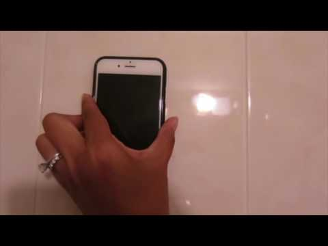 Shuua Anti-Gravity Selfie Case Magical Nano Sticky for iPhone 6/ iPhone 6S 4.7-inch Black