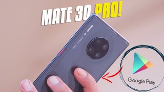 Huawei Mate 30 Pro Hands on Review In Bangla: No Google??
