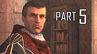 Assassin's Creed Brotherhood Walkthrough Part 5 - Machiavelli (ACB Let's Play Commentary)