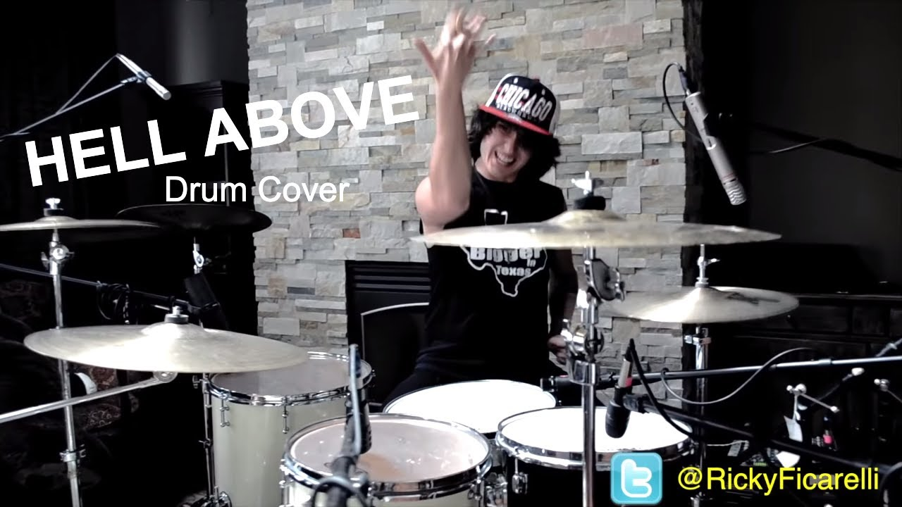 Ricky PIERCE THE VEIL Hell Drum Cover