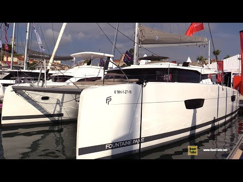2019 Fountaine Pajot Saona 47 Catamaran - Walkaround - 2018 Cannes Yachting Festival