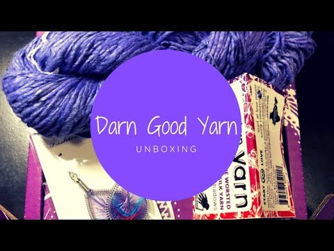 Repeat Darn Good Yarn Unboxing | Month 8 by Magpie Melon