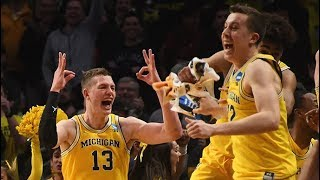 Michigan vs. Texas A&M: Watch all of the Wolverines\' 14 three-pointers from the Sweet 16