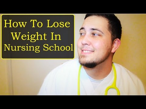How To Lose Weight in Nursing School!
