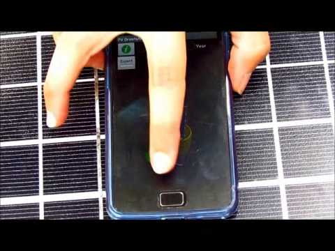 PV Orientator App for Solar Energy